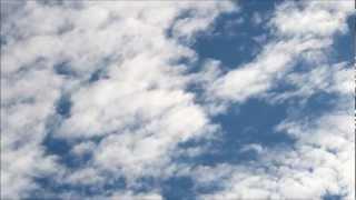 Nubes viento y mariquita. Canon 600D T3i timelapse video test