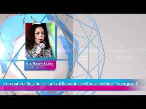 """Compañera Rosario se suma al llamado a evitar las bebidas """"energizantes"""""""