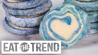 How to DIY Easy Geode Cookies | Eat the Trend by POPSUGAR Food