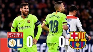 Lyon vs Barcelona [0-0], Champions League 2019, Round of 16 - MATCH REVIEW