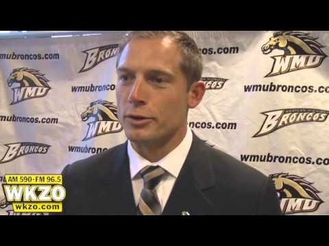PJ Fleck was introduced on Tuesday as the 15th WMU head football coach.