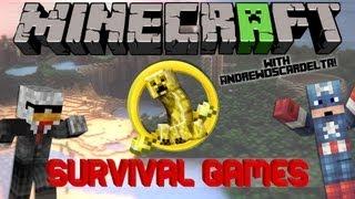 Minecraft Survival Games - WORST TEAM EVER /w AndrewOscarDelta