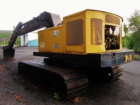 p&h - A look at a 1973 P&H H-418 hydraulic excavator. Like my videos? Then join the PA today! https://www.facebook.com/pages/PAmining/164948266897468.
