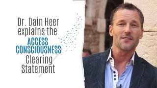 Access Consciousness -                        Clearing Statement®