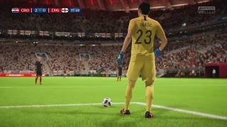 Video World Cup 2018 Croatia vs England - Semi Finals 2018 Full Match Sim (FIFA 18) MP3, 3GP, MP4, WEBM, AVI, FLV September 2018