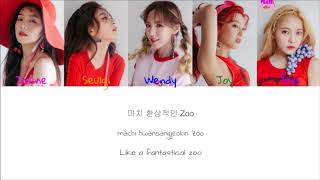 Red Velvet - Zoo (Color Coded Han|Rom|Eng Lyrics) | by Bacon Biased