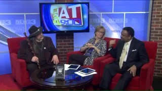 "Author Rickie Lee Reynolds (Black Oak Arkansas) talks about his book ""Evil Thingies"