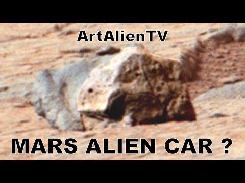 Mars Ancient Alien Car: Taxi Anomaly? Curiosity MARS ZOO 2014. ArtAlienTV 50fps Full