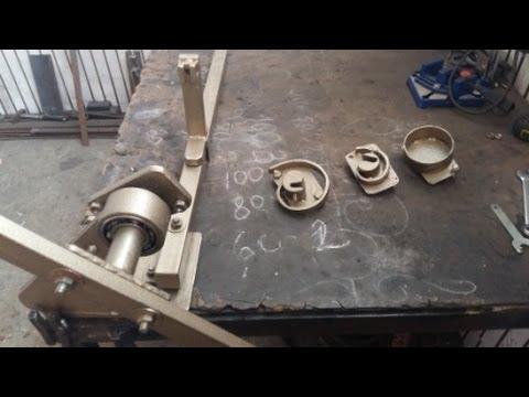 Как сделать улитку — станок для холодной ковки