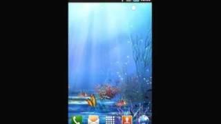 Underwater World LWP YouTube video