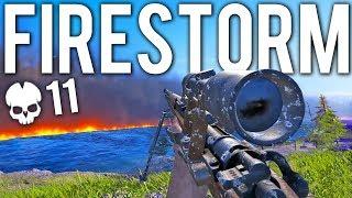Battlefield V — геймплейный трейлер режима «Огненный шторм» (Battle Royale)