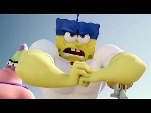 SpongeBob Squarepants HeroPants All Cutscenes Movie (FULL HD) Spongebob Out of Water Movie Sequel