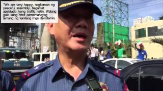 PNP happy with Iglesia ni Cristo rally — Pagdilao