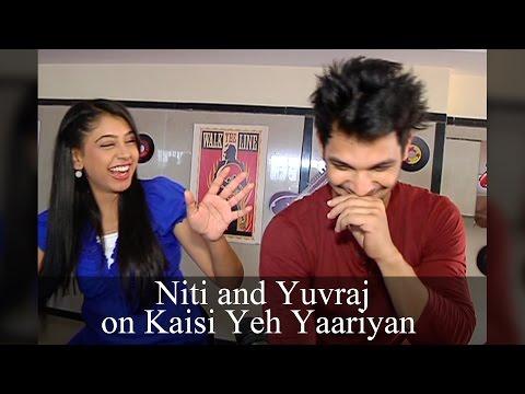 Niti and Yuvraj aka Nandani andconversation