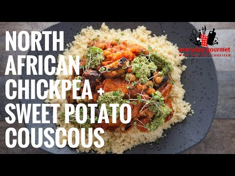 Bosch North African Chickpea and Sweet Potato Couscous | Everyday Gourmet S6 EP47