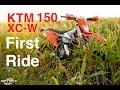 2017 KTM 150 XC W   First Impressions of the Small Bore 2 Stroke
