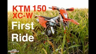 10. 2017 KTM 150 XC W   First Impressions of the Small Bore 2 Stroke