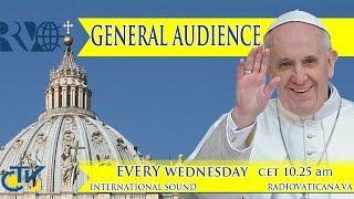 Participantes en la beatificación acuden a la audiencia con Papa Francisco