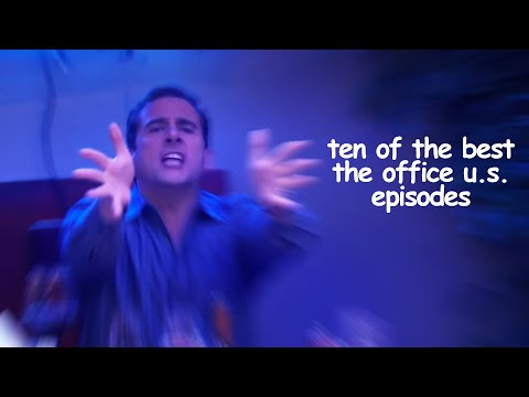 10 OF THE BEST Episodes Of The Office US   Comedy Bites