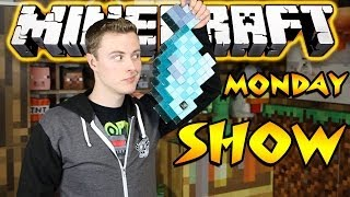 Minecraft Monday Show #123 - New SET! And AMAZING PEOPLE!