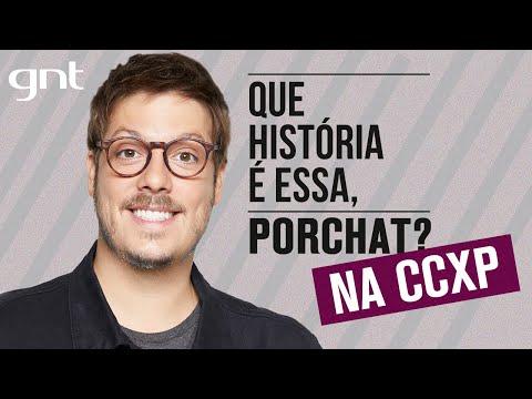 'QUE HISTÓRIA É ESSA, PORCHAT?' AO VIVO DIRETO DA CCXP   SÁBADO, 07/12, às 18h20   Teaser