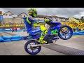 foto FIRST PUBLIC RACE of Valentino Rossi and Maverick Viñales (MotoGP Yamaha GP) Borwap