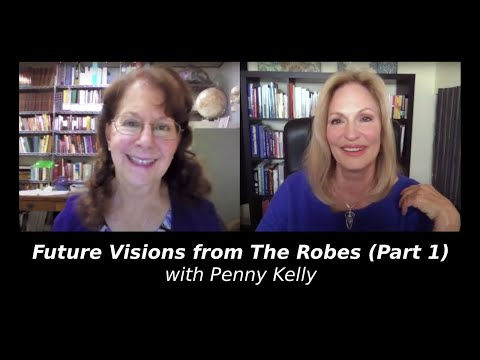 Video Future Visions from The Robes (Part 1) with Penny Kelly, Author download in MP3, 3GP, MP4, WEBM, AVI, FLV January 2017