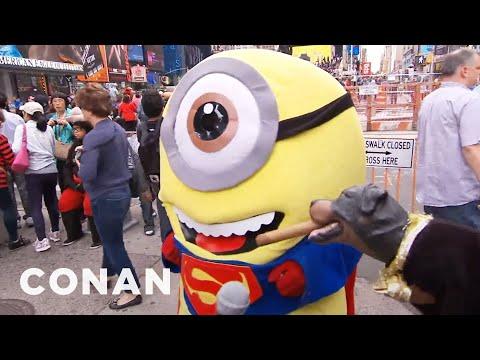 Triumph vyráží za maskoty na Times Square