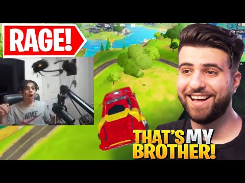 Reacting to the ULTIMATE Fortnite Rage...
