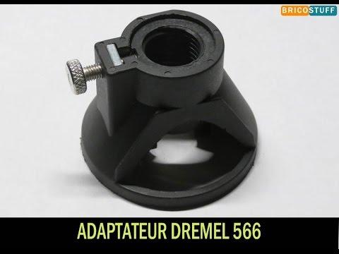 Adaptateur découpe fraisage pour mini appareil rotatif multifonction - Dremel 566 - Banggood