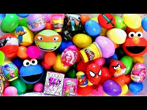 surprise - Here's my Huge 150 Surprise Eggs Unboxing by ToyCollector Blucollection. Includes Blind-Bags and Mystery Box from different cartoon such as: Disney Big Hero 6 Bayman Hiro, Shopkins Season2...