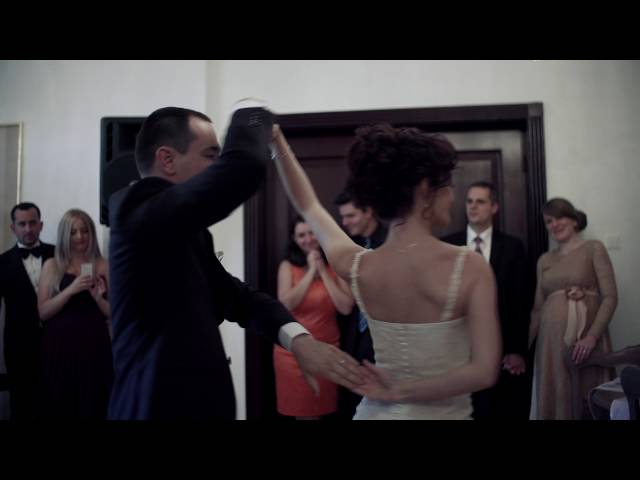 Brazilian Zouk Wedding Dance- Cristi & Andrada ,remix by DJ Guido Zoukeiro