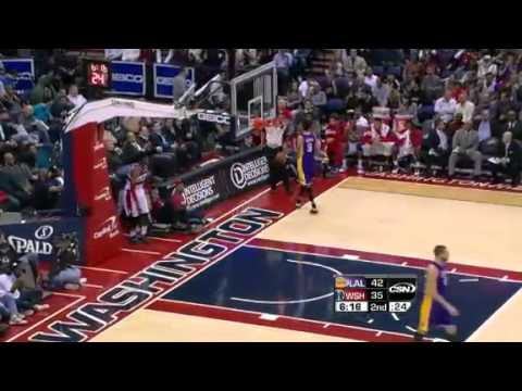 Nick Young's Air Ball vs. Lakers