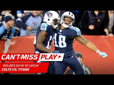 Video: Mariota's 53-Yd TD Bomb to Taylor & Titans Take the Lead! | Can't-Miss Play | NFL Wk 6