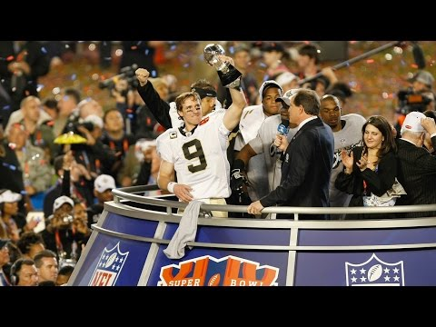 VIDEO:  Super Bowl XLIV Saints/Colts highlight video