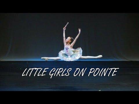 Amazing little girls en pointe ( age 6-11)