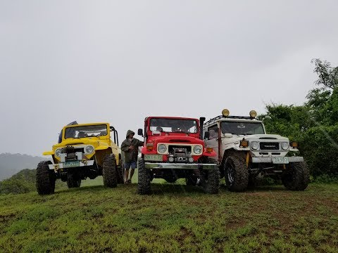 Philippines Offroad- Landcruisers FJ40 And BJ44 Tackle San Piro Mountain