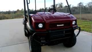 1. For Sale! $9,999 2013 Kawasaki Mule 4010 4X4 Dark Royal Red