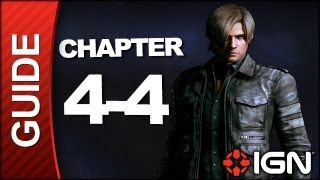 Resident Evil 6: Leon Kennedy Campaign Walkthrough - Chapter 4 pt 4