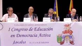 Conferencia Jaume Funes, Salva Macías y Joaquín Barriga