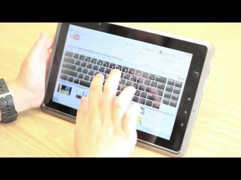 MSI Wind Pad Windows 7 Tablet PC Review