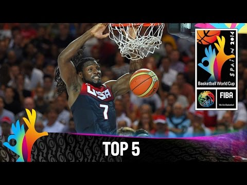 Top - Watch the Top plays of day 2 from the 2014 FIBA Basketball World Cup featuring Anderson VAREJAO (Brazil), Daniel SANTIAGO (Puerto Rico), Kenneth FARIED (USA), Nenê HILARIO (Brazil) and Petteri...