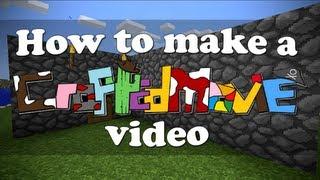 How To Make A CraftedMovie Video (ItsJerryAndHarry)