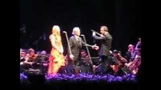 Jose Carreras e Sofia Escobar - All I ask of you - Guimarães - 06.10.12
