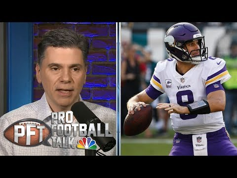 Video: Vikings' Kirk Cousins facing enormous pressure in 2019 | Pro Football Talk | NBC Sports