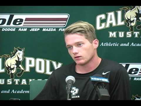 Cal Poly Senior Defender Kip Colvey