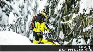 1. 2018 Ski-Doo Summit SP 154 850 E-TEC SS, PowderMax Light ...