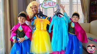 Video หนูยิ้มหนูแย้ม | ซื้อชุดเจ้าหญิงแสนสวย Shopping for Disney Princess Dresses MP3, 3GP, MP4, WEBM, AVI, FLV Juli 2019