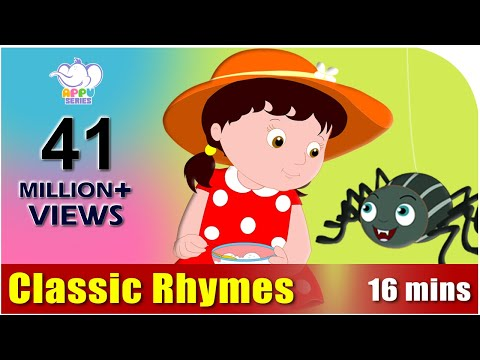 rhymes - This collection of classic rhymes is a must watch. Keeps your children entertained for long and educates them too! Get our interactive App!: http://itunes.ap...