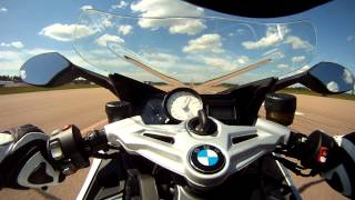 8. BMW K1300S 0-270 kmh acceleration
